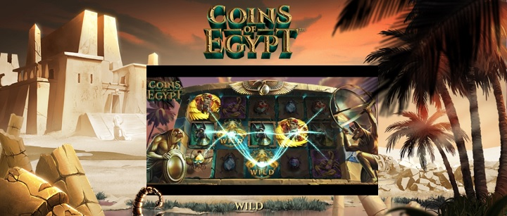 Coins of Egypt - ny slot från NetEnt