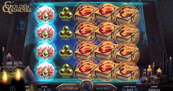 Golden Grimoire ny NetEnt spelautomat