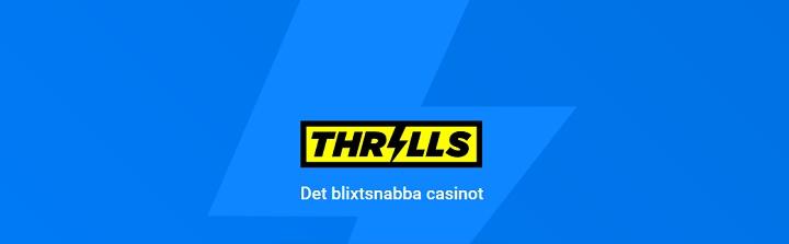 Spela på Thrills Casino med 10% Cashback